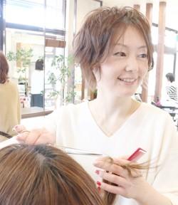 長野市美容室エヴァー篠ノ井店 ディレクター室賀綾子